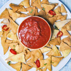 Domowe fit nachos – dieta meksykańska